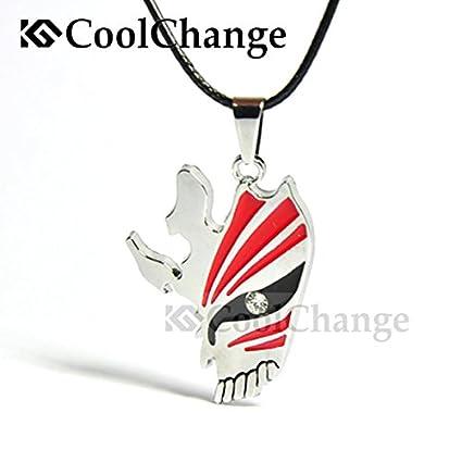 CoolChange pulsera de cuero con la máscara de Ichigo Hollow