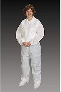 product image for Alpha Pro Tech CV-64022-6 Critical Cover NuTech Coverall with Elastic Wrist & Ankle, Surged Seams, 2XL/3XL (Pack of 25)