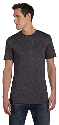 - Bella + Canvas Unisex Jersey Short-Sleeve T-Shirt, XL, DARK GREY HEATHER