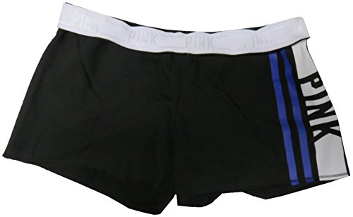 Victoria Secret PINK Womens Fleece Shorts Black Medium