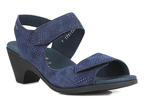 Nu Sandales Femme MEPHISTO Bleu CECILA pieds xq0wPUP1