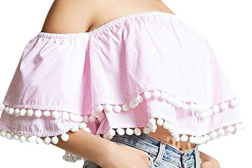 confit you - Camisas - Sin mangas - para mujer Rosa