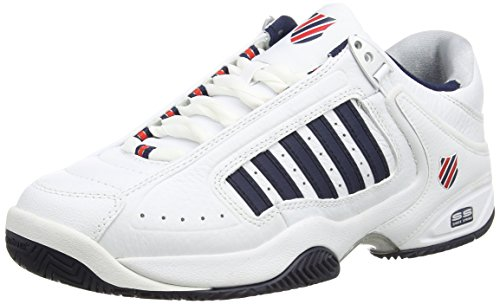 K-Swiss Defier RS Men's Tennis Shoes, White, US11 (K Swiss Defier Rs Mens Tennis Shoes)