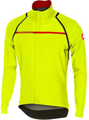 Castelli Perfetto Convertible Jacket - Men's Yellow Fluo, M