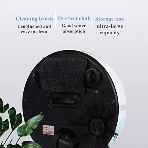 Aspirateur robot pour les planchers de bois franc, poils d\'animaux, Robots Aspirateurs pour Tapis moyen Pile, aspiration puissant, silencieux, mince
