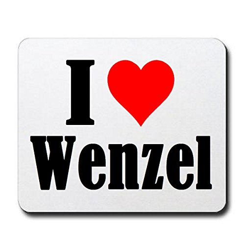 exclusive-gift-idea-mouse-pad-i-love-wenzel-in-white-a-great-gift-that-comes-from-the-heart-non-slip