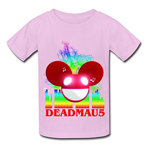 kids-boys-girls-tee-deadmau5-dream-logo-party-pink-size-m