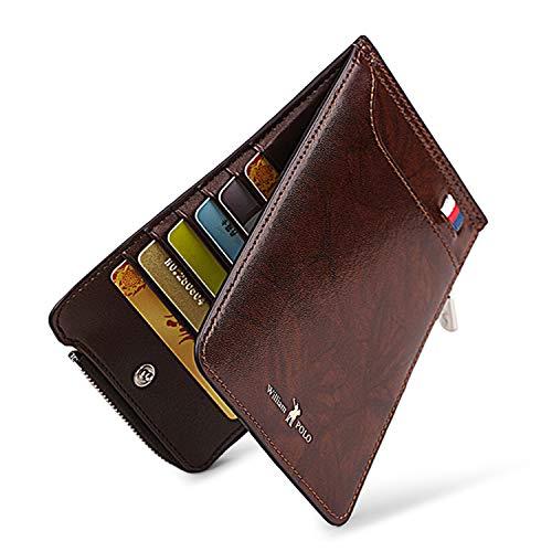 Amazon.com: Billetera para hombre – Doble bolsillo con ...