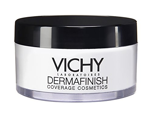 Vichy Dermafinish Loose White Translucent Setting Powder, 1 Oz. (White Face Makeup Powder)