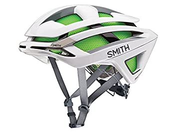 Smith Overtake - Casco de Ciclismo Multiuso, Color Blanco, Talla S