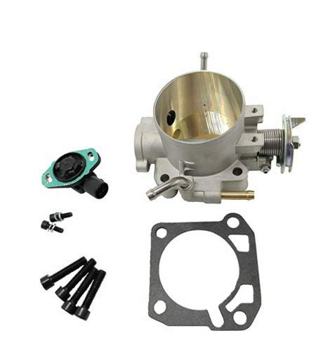 70mm Throttle Body with TPS Sensor for Acura Integra Honda Civic del Sol D B H F Series Engine ()