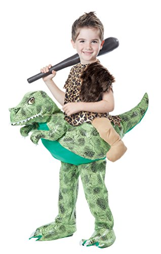California Costumes Dino Rider Child Costume, Brown/Green, Toddler (3-6)