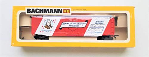 Bachmann HO Scale Burlington Northern 51' Bicentennial Boxcar Benjamin Franklin