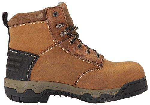 Boot Men's Aluminum Work Toe John Waterproof Brown Deere AqwHR
