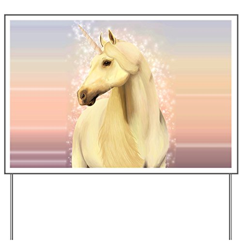 Yard Sign Real Unicorn Magic