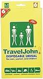 TravelJohn-Disposable Urinal (6 Pack)
