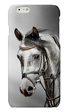 Funda carcasa caballos para Huawei G8 GX8 plástico rígido