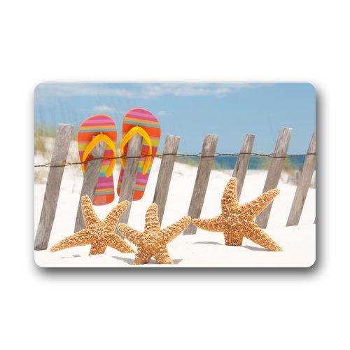 Custom-Machine-washable-Door-Mat-Flip-Flop-Summer-Beach-IndoorOutdoor-Decor-Rug-Doormat-236L-x-157W