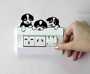 Amazon.com: Deewarist Cute Puppies Switchboard Design: Home & Kitchen