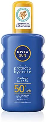 Nivea Sun Immediate Protection Moisturising Sun Spray SPF50+ 200 ml