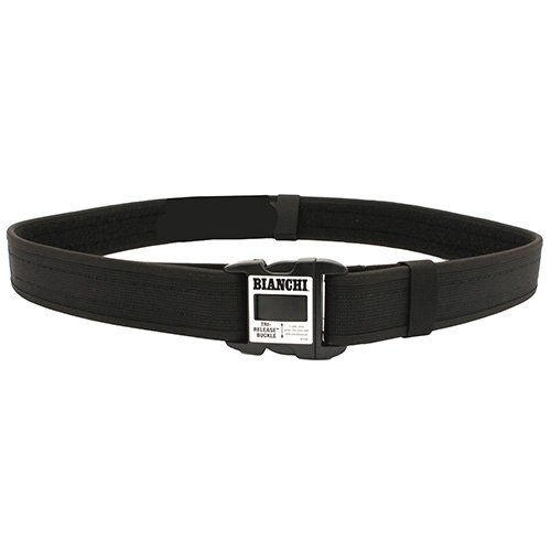 Bianchi 8100 PatrolTek Tough Nylon Web Duty Belt, Black, Medium fits 34
