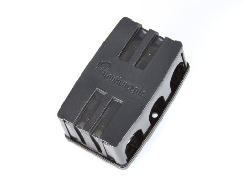 (KnuKonceptz KNF-36 2 Way 0 Gauge Fused Power Distribution Block 0/4 Gauge out)