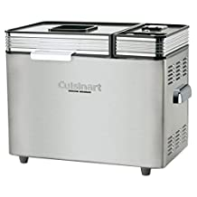 CUISINART® Brushed Stainless-Steel Convection Bread Maker Machine 2 Lb. Low Carb & Gluten-Free Options