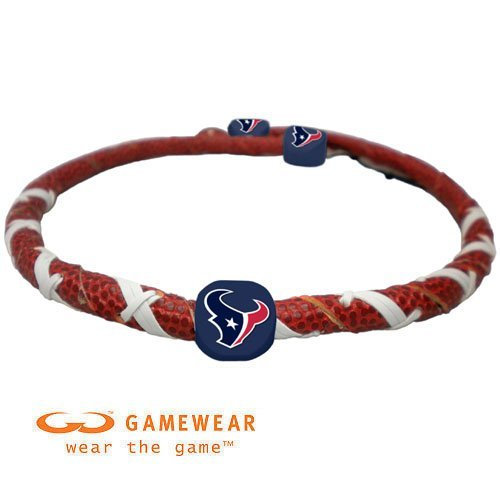 Necklace Spiral Classic Football - NFL Houston Texans Classic Spiral Football Necklace