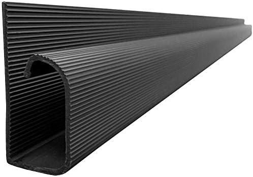 Master Manufacturing J Kanal Kabelkanal Schwarz 121 9 Cm Länge Küche Haushalt