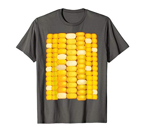 Corn Costume Halloween Shirt | Cool Food Dress-Up Gift ()
