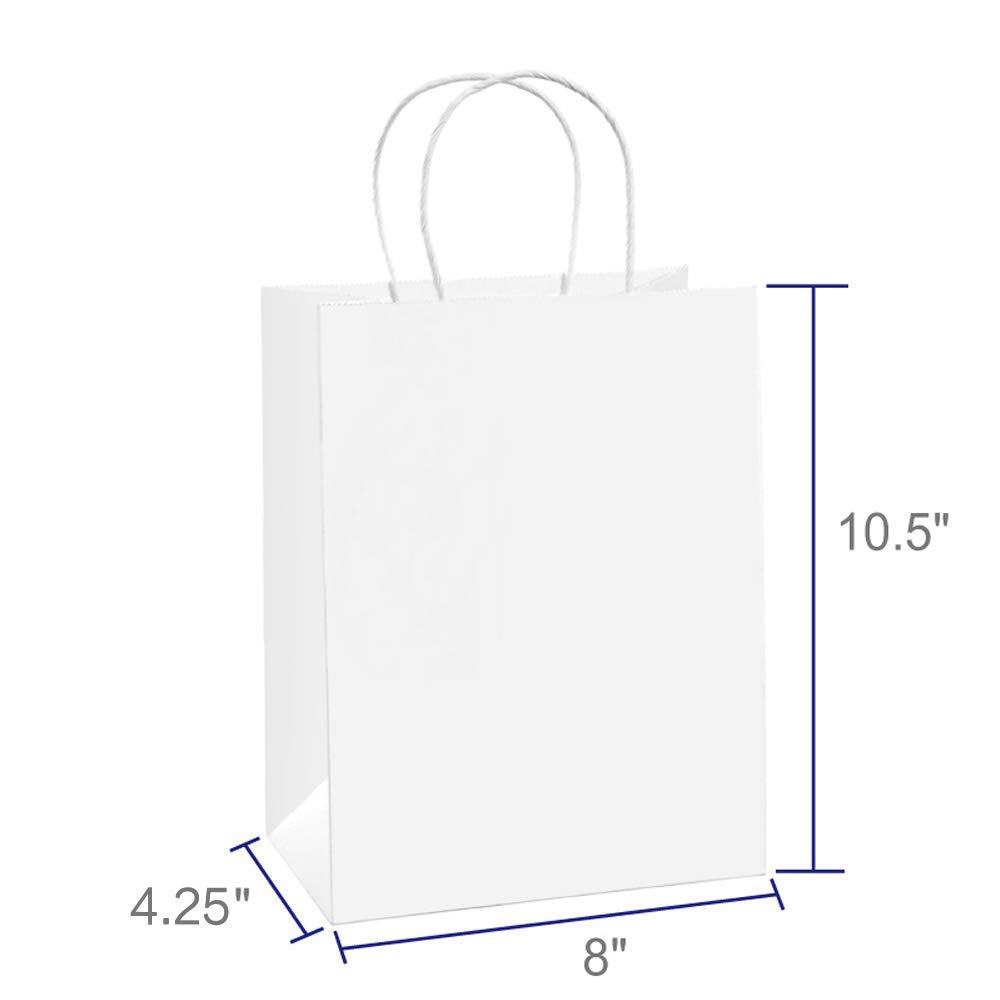 Amazon.com: BagDream Bolsas de regalo de 8 x 4.25 x 10.5 100 ...