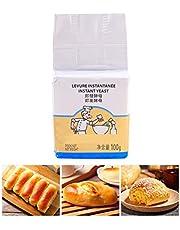 JiuRong Levadura de Pan de Alta Capacidad de 100 g, Levadura Seca Activa, Levadura de Panadería, Alta Tolerancia a la Glucosa, Levadura para Hornear, Suministros para Hornear, Suministros de Cocina