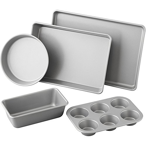 Wilton 5 Piece Best Value Non-Stick Bakeware Set, 2105-2560