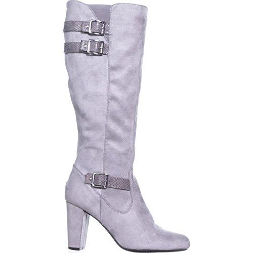 Grey Rialto Femmes Bottes Light Suedette twf7Ortq