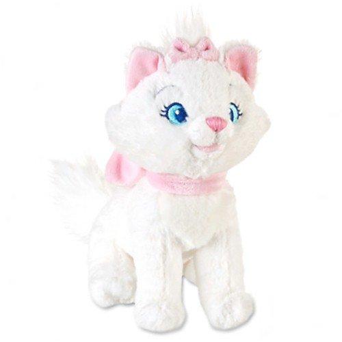 Disney The Aristocats: Marie Mini Bean Bag Plush - 7'' H - Cat Bean Bag Toy