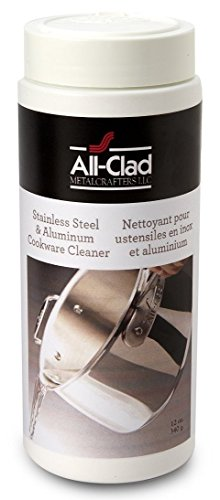 All-Clad 00942 Cookware Cleaner and Polish, 12-Ounce (Cookware Polished Aluminum)