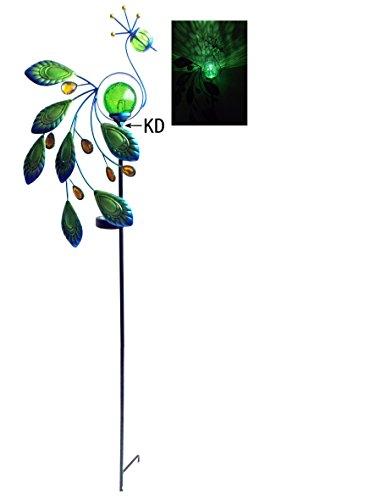 Peacock Solar Garden Light in US - 5
