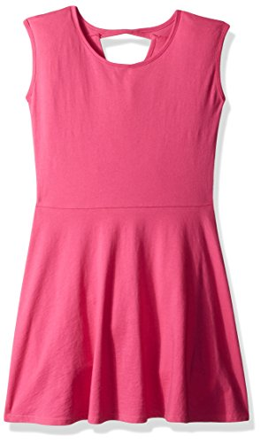 The Children's Place Big Girls' Bow Back Dress, Glamorous, S (5/6) (Pink Dresses For Kids)