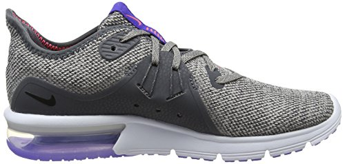 Particle Compétition Femme Grey WMNS Dk Air Moon NIKE Max Sequent Gris Black Chaussures 013 Running 3 de FZn8zwnx