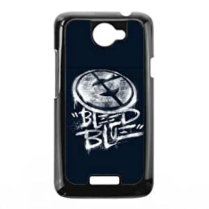 Bleed Blue (White Variant) HTC One X Cell Phone Case Black AMS0660353