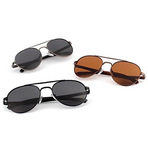 Mujer para De Protección Aviator Gafas para Polarizadas C 400 Sol UV Hombre A qxX8xdwI
