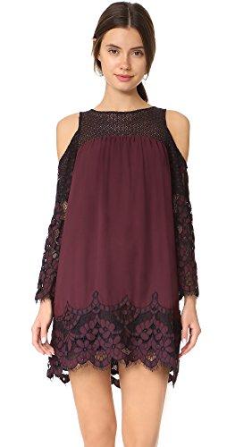 نتيجة بحث الصور عن BB Dakota Jacky Two Tone Lace Dress