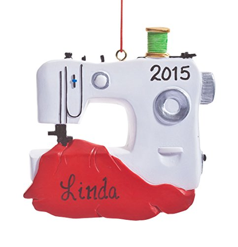 Machine Ornament (Personalized Sewing Machine)