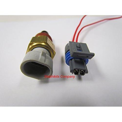 GM Delphi Packard Intake Air Temperature Sensor # 25036751 w Keyway Connector