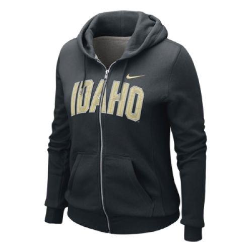 Idaho Vandal Sweatshirt (Idaho Vandals Womens Classic Full-zip Hooded Sweatshirt - Junior Women - S (4-6))