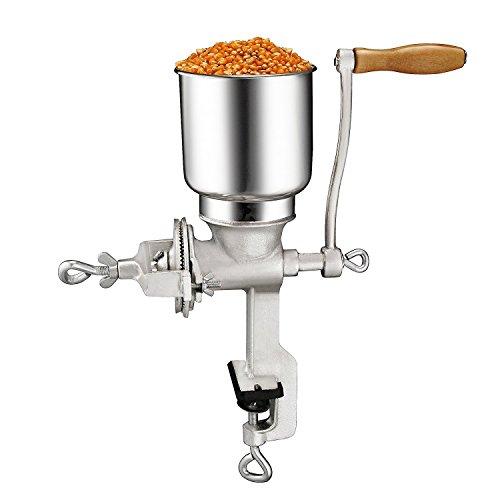 (Premium Quality Cast Iron Grain Grinder or Corn Grinder - Grain Mill or Corn Mill)