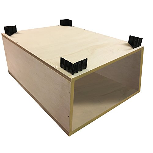Unfinished Plywood Laundry Pedestal For LG, Samsung, Kenm...