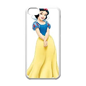 Disney Snow White And The Seven Dwarfs Character iPhone 5c Cell Phone Case White 05Go-209548