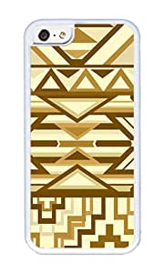 iPhone 5C Case,VUTTOO iPhone 5C Cover With Photo: Tribal Pattern For Apple iPhone 5C - TPU White