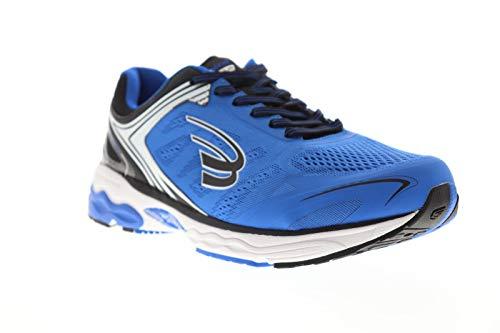Spira Aquarius Mens Blue Textile Athletic Lace Up Running Shoes 10